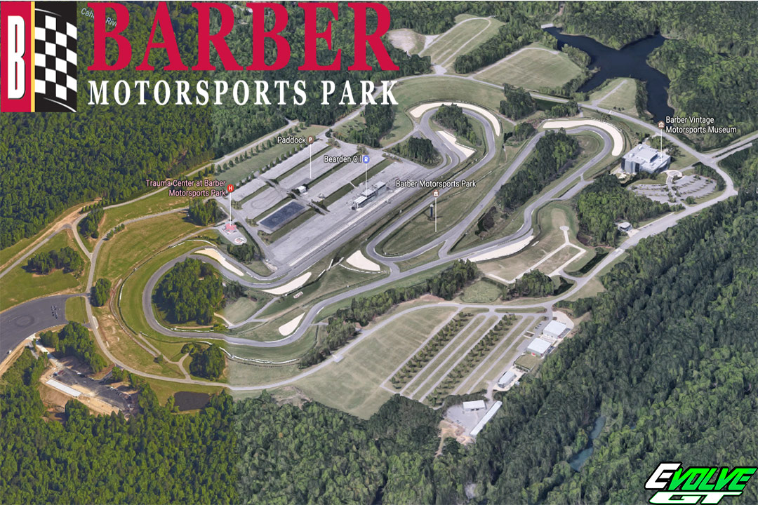Barber Motorsports Park >> Barber Evolve Gt Track Days Motorcycle Track Day